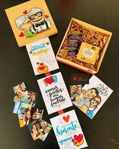 Birthday Gifts For Boyfriend Diy, Cute Birthday Gift, Birthday Gifts For Best Friend, Gifts For My Boyfriend, Birthday Cards, Love Gifts, Baby Gifts, Diy Gift Box, Party In A Box