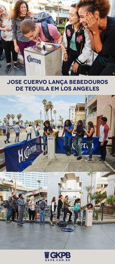 Sabendo do calor que os pedestres sofrem no verão americano, a Jose Cuervo resolveu optar por uma maneira nem tão convencional de refrescá-los.
