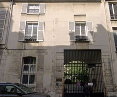 Hôtel de Vitry (XVIe-XVIIe) 14-14bis, rue des Minimes Paris 75003. Propriété privée.