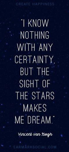 #Quote - Van Gogh
