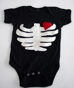 Como decorar ropa para bebes con diseños de Halloween | Todo Manualidades