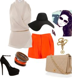 Touch Me Orange, created by stylesbylc on Polyvore