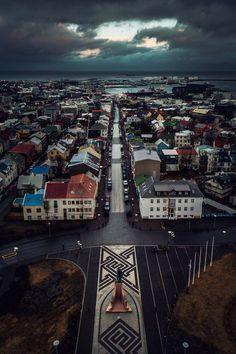 Reykjavik, Iceland Visit the photo to see the Most Fotogenic Capitals on the World
