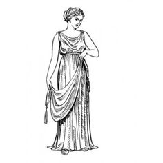 The garment called the tunic heretofore was called a chiton by the Greeks.