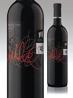 label / Robello 45 by Boldrini & Ficcardi / wine