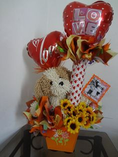 Remember to use the Dollar Tree boxes with Valentine's boxco boxes to make taller gift Valentine Gift Baskets, Valentine Gifts, Balloons And More, Tree Box, Balloon Bouquet, Valentine Decorations, Diy And Crafts, Baby Shower, Candy