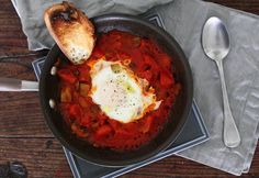 Spicy, saucy Shakshouka