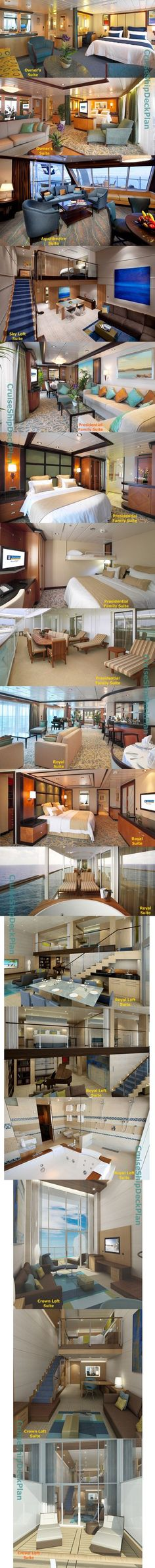 Royal Caribbean Harmony of the Seas suites photos