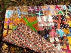 really want to do a scrappy wonky cross quilt... just add it to the list.