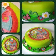 Cake con Impresión • Mariposa #pritycakes #cakes #fondant #mariposas #butterfly