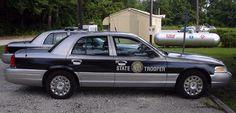 Slick-Top Crown Victoria (NCSHP) Nc Highway Patrol, North Carolina Highway Patrol, Police Vehicles, Emergency Vehicles, Police Cars, Victoria Police, State Police, Ford Motor Company, General Motors