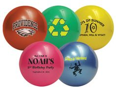 Custom printed Mini Sports Balls with your logo, graphic or message. The premier online source for custom imprinted sports-related promotional products. Myofacial Release, Sports Party Favors, Cheer Spirit, Unique Invitations, Bar Mitzvah, 7th Birthday, Neon Green, Party Themes, Balls