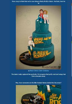 Geeky Cakes: Back to the Future
