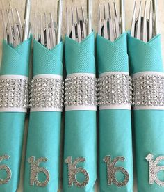 Sweet Sixteen Party Decoration Tiffany Blue Decorations