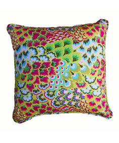 Loni M. Summer Floral Pillow, Colorfully Curated: Home Décor on Zulily