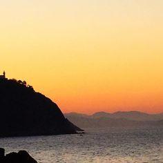 stunning sunset in S