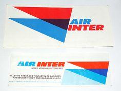 Vintage airline logo
