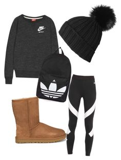 To Wear Uggs Moccasins Winter Ideas Winter School Outfits, Cute Middle School Outfits, Cute Lazy Outfits, Teenage Outfits, Teen Fashion Outfits, Outfits For Teens, Moccasins Outfit, Legging Outfits, Adidas Outfit