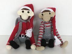 #mitKayBojesen min udgave til jul. Hæklet abe. Nisser Juleabe