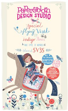 print & pattern: INDIGO PARIS - paper & cloth