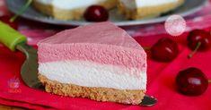 Cheesecake alle ciliegie una torta fredda buonissima, freschissima e golosa ma anche molto semplice da realizzare e senza cuocere nulla.