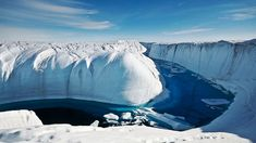 The 15 Most Surreal Destinations to Visit in 2015 | Jinna Yang (Ice Canyon in Greenland)