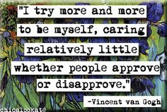 Vincent van Gogh Approve or Disapprove Quote by chicalookate, $4.00