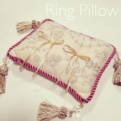 、 Ring Bearer Pillows, Ring Pillows, Wedding Ceremony, Wedding Rings, Ring Pillow Wedding, Favorite Words, Wedding Accessories, Invitations, Pillow Ideas