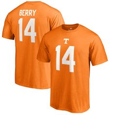 Eric Berry Tennessee Volunteers Fanatics Branded College Legends Name & Number T-Shirt - Tennessee Orange
