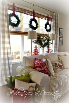 Adventures in Decorating: Our 2014 Christmas Great Room ...