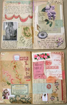 cool journal pages