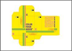Plano 3 vreugde: hierbij heb ik de hele kleurcombinatie verandert. Tijdens de feedback werden vele felle kleuren toegeschreven aan vreugde, terwijl ik vooral enkel met groen en geel had gewerkt. Bij deze plano heb ik dus geprobeerd de feedback op te volgen.