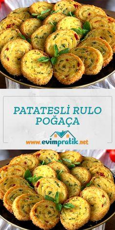 Turkish Recipes, Ethnic Recipes, Baked Potato, Shrimp, Food And Drink, Potatoes, Pasta, Baking, Breakfast
