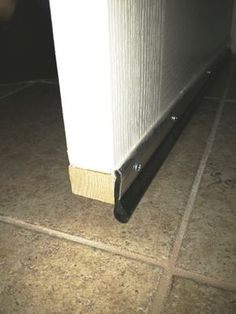 How to soundproof your door with a simple acoustical soundproofing  door sweep.