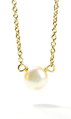 pearl of love white pearl necklace #givedogeared