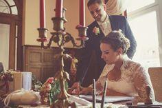 Der Bund der Hochzeit.