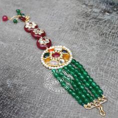 Our RUHIKA BRACELET by Indiatrend. Shop Now at WWW.INDIATRENDSHOP.COM Handmade Rakhi Designs, Designer Bangles, Indian Bangles, Silk Thread Bangles, Dj Booth, India Jewelry, Cute Diys, Handmade Jewellery, Anklets