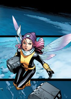 X-Men Vol.4 #3 interior art - Pixie by Olivier Coipel *