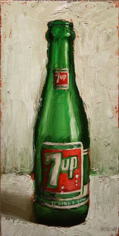 7 Up Bottle by Carla Bradford J. Salamon