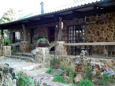 """Kliphuisjes - Dullstroom, Mpumalanga  Situated in the heart of Dullstroom, hidden amongst huge Blue Gum trees, at """"KlipHuisjes"""" guests can choose between 4 self catering units, where you will enjoy cozy fireplaces and glorious misty, late afternoons on the front stoep sipping sundowners while waiting for the braai to get ready. Then retire for the night in luxurious 100% percale cotton linen down duvets and soft warm blankets. For more, click on http://www.wheretostay.co.za/kliphuisjes"""