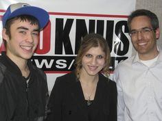 "Students Ben Weil and Georgie Seserman were joined by Rabbi Michael Sunshine.  Rabbi Sunshine is regional director of the Jewish Student Connection.  Georgie and Ben are part of Radio Chavura's ""We've Got Kisharon (Talent)"" Showcase."