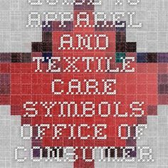 Guide to Apparel and Textile Care Symbols - Office of Consumer Affairs (OCA)