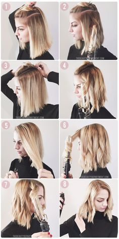 Finally, a tutorial on how to style your lob or bob the same way the pros do!