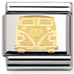 Nomination Charm Gold Camper Van | Contemporary Jewellery at Affordable Prices | Xen Jewellery Design