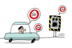 La limitation de vitesse expliquée aux enfants.