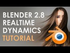 Blender dynamics (quick and fast) cloth, hair, flags Real-time Tutorial - YouTube