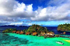 MISSOL ECO RESORT, WEST PAPUA, INDONESIA.