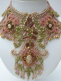 Goddess Dana statment necklace. $550.00, via Etsy.