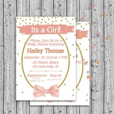 girly baby shower Party available at Etsy