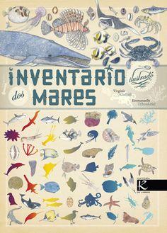 El «Inventario de los mares» es el nuevo catálogo de animales marinos que edita @KalandrakaEdit. Sus exquisitas ilustraciones naturalistas, en una moderna versión de las de los tratados científicos expedicionarios del siglo XVIII, se acompañan de una breve e interesante descripción de cada especie que apaciguará la insaciable curiosidad de los niños (de 6 a 99 años). Una joya de Virginie Aladjidi y Emmanuelle Tchoukriel. http://www.veniracuento.com/